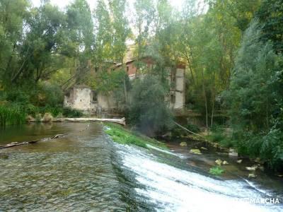 Hoces Río Duratón - Villa Sepúlveda; via libre senderismo monasterios en navarra